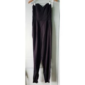 Black Tube Jump Suit